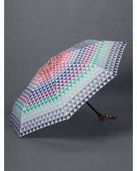 Gap Geometric Print Umbrella - Blue