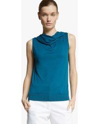 Halston Off Shoulder Sweater - Lyst