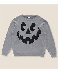 Jeremy Scott Halloween Lantern-Face Cotton Jumper - Lyst