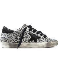 Golden Goose Deluxe Brand 'Super Star' Sneakers - Lyst