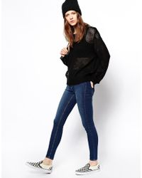 Cheap Monday Spray On Super Skinny Jeans - Lyst