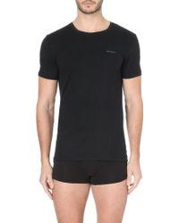 Diesel Plain Logo 2 Pack T-Shirts - For Men - Lyst