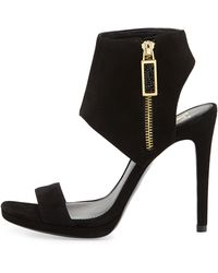 Vc Signature Shaylee High-Heel Suede Dress Sandal - Lyst