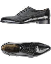 Lanvin Lace-Up Shoes gray - Lyst
