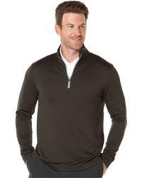 PGA TOUR - Quarter-zip Golf Performance Pullover Sweater - Lyst