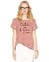 Kate Spade Catch Me If You Can Tee - Red