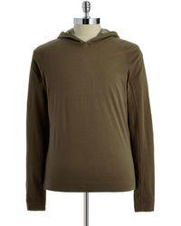 Victorinox - Hooded Long-sleeved Shirt - Lyst
