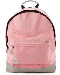 Mi-Pac Chambray Backpack - Red - Lyst