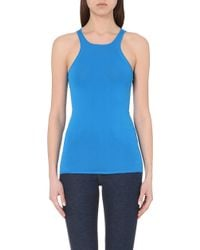 Sandro Racerback Knitted Top - Lyst