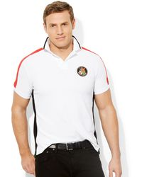 Ralph Lauren Short Sleeve Knit Mesh Polo - Lyst