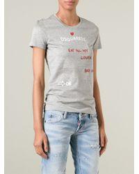 DSquared² Slim Fit T-Shirt - Lyst