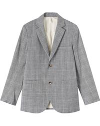 Toast Prince Of Wales Check Jacket - Lyst