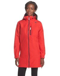 Helly Hansen Belfast Water-Resistant Insulated Jacket in Red - Lyst