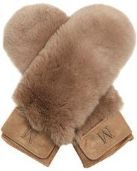 Max Mara - Velo Gloves - Lyst