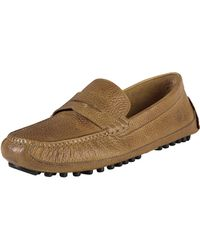 Cole Haan Grant Canoe Penny Loafer - Brown