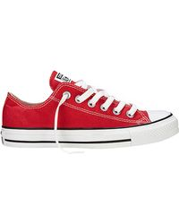 Converse All Star Canvas Sneakers - Lyst