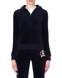 Juicy Couture Classic Velour Hoody Regal - Lyst