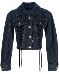 Jean Paul Gaultier Denim Jacket - Lyst