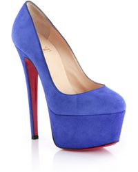 christian louboutin victoria suede