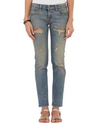 Simon Miller Highland Slim Boyfriend Jeans - Lyst