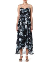 French Connection Lily Floral-Print Maxi Dress - Lyst
