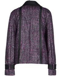 John Galliano Coat - Purple