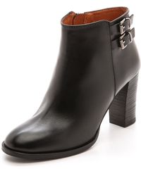 Madewell Reid Booties - True Black - Lyst