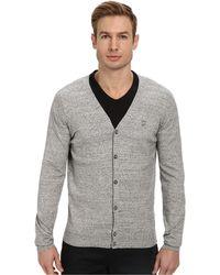 Diesel Gray K-Cibe Sweater - Lyst