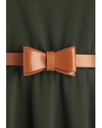 Coco Love Abiding Beauty Dress In Olive - Green