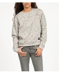 Cheap Monday Rug Sweatshirt gray - Lyst
