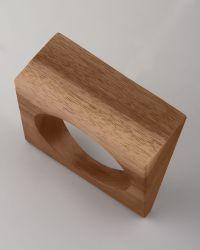 Donna Karan - Angular Wood Bangle  - Lyst
