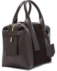 Pierre Hardy Leather & Suede Duffel Bag - Lyst