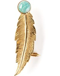 Leivan Kash - Feather Ear Cuff - Lyst
