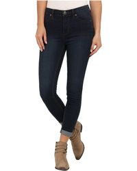 Free People Hi Roller Crop Jean - Lyst