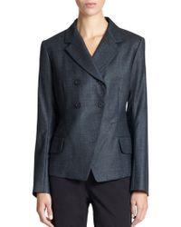 Jil Sander Speckled Wool Jacket - Lyst