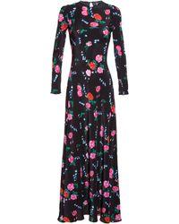 Tata Naka Full Length Silk Dress - Lyst