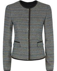 Boss Black Jotila Tweed Jacket - Lyst