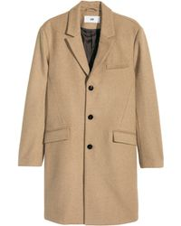 H&M - Coat In A Wool Blend - Lyst