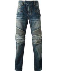 Balmain Blue Jeans Blu - Lyst