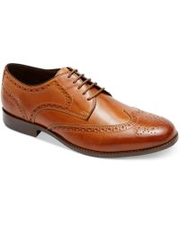 Rockport Style Refinement Wingtip Oxfords - Lyst