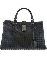 Bottega Veneta Roma Cross-Body Bag - For Women - Lyst