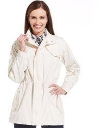 Jones New York Signature Anorak Windbreaker Jacket - Lyst