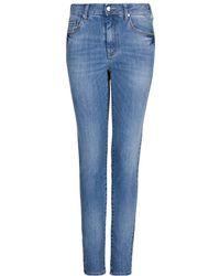 Mango High Waist London Jeans - Lyst