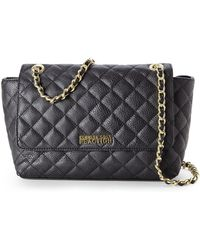 Kenneth Cole Reaction Black Monaco Shoulder Bag - Lyst