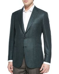 Brioni Houndstooth Two-Button Jacket - Lyst