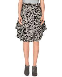 Chloé   Knee Length Skirt   Lyst