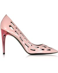 Kenzo Pink Perforated Pump pink - Lyst