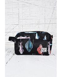 Herschel Supply Co. Token Wash Bag in Pacific Print - Blue