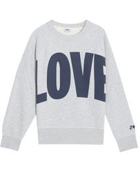 Acne Studios Love Sweatshirt - Lyst