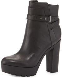 Pour La Victoire Emme Leather Tread-Sole Boot - Lyst